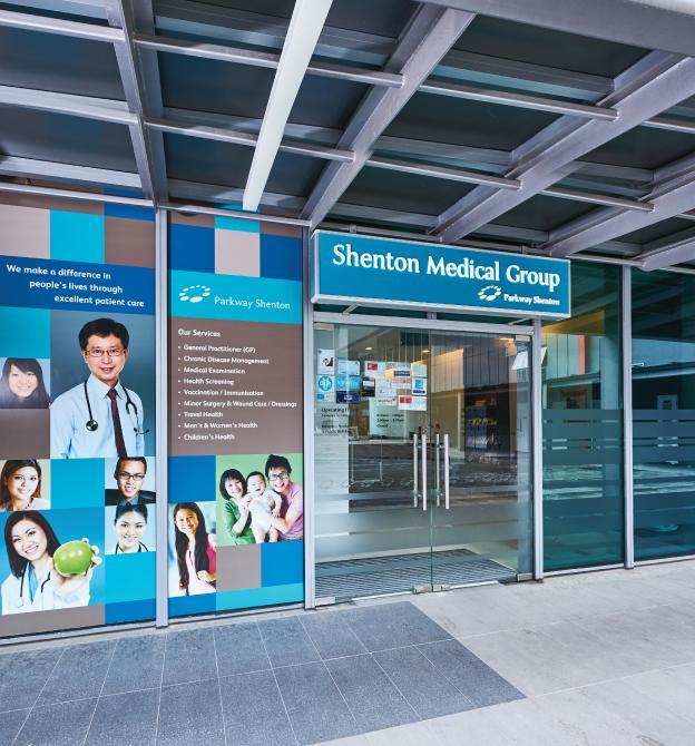 UE Bizhub - Shenton Medical Group