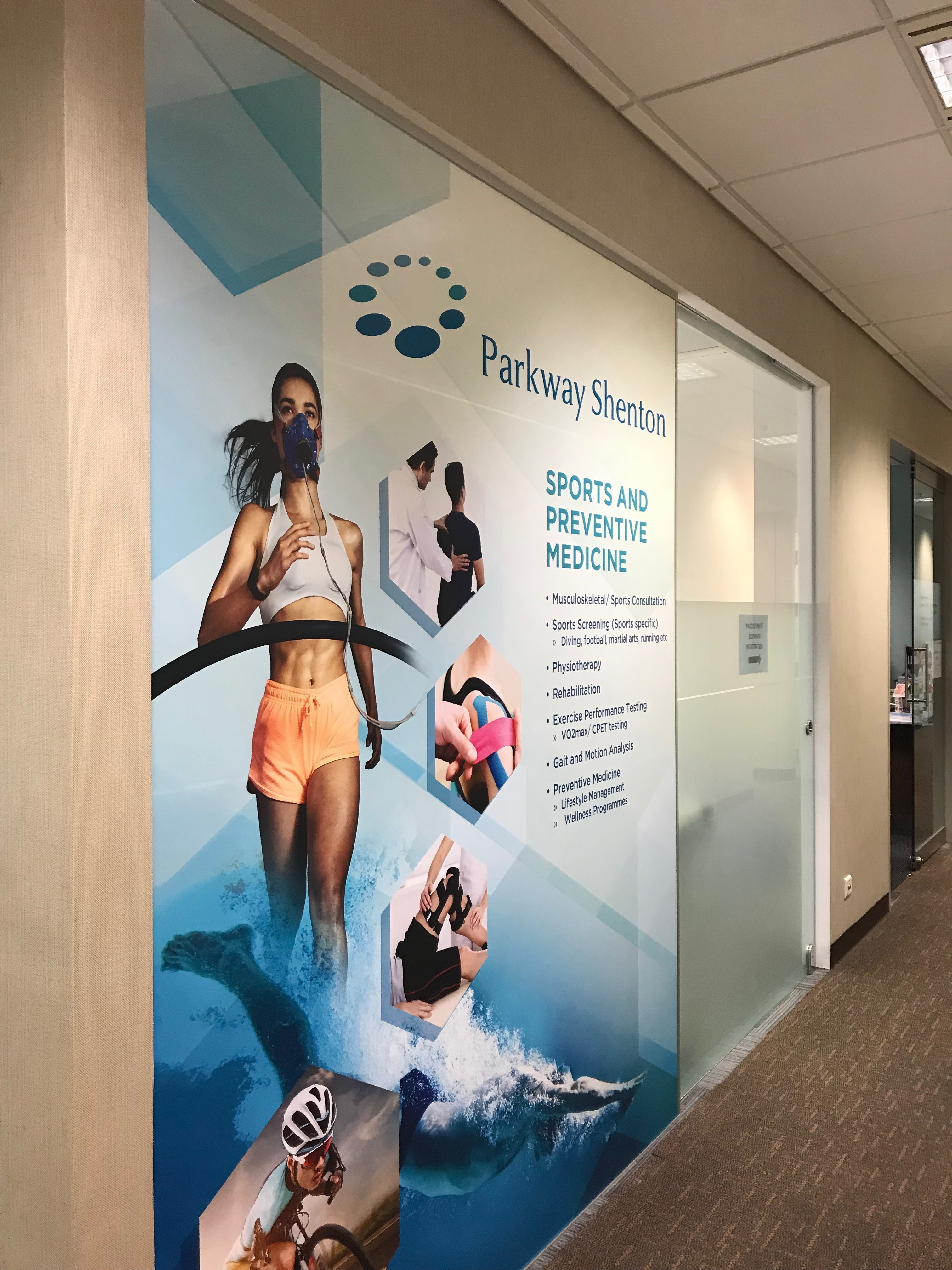 Sports Medicine Clinic - Parkway Shenton Medical Group